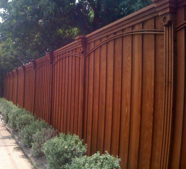 Wood Amp Wrought Iron Fences